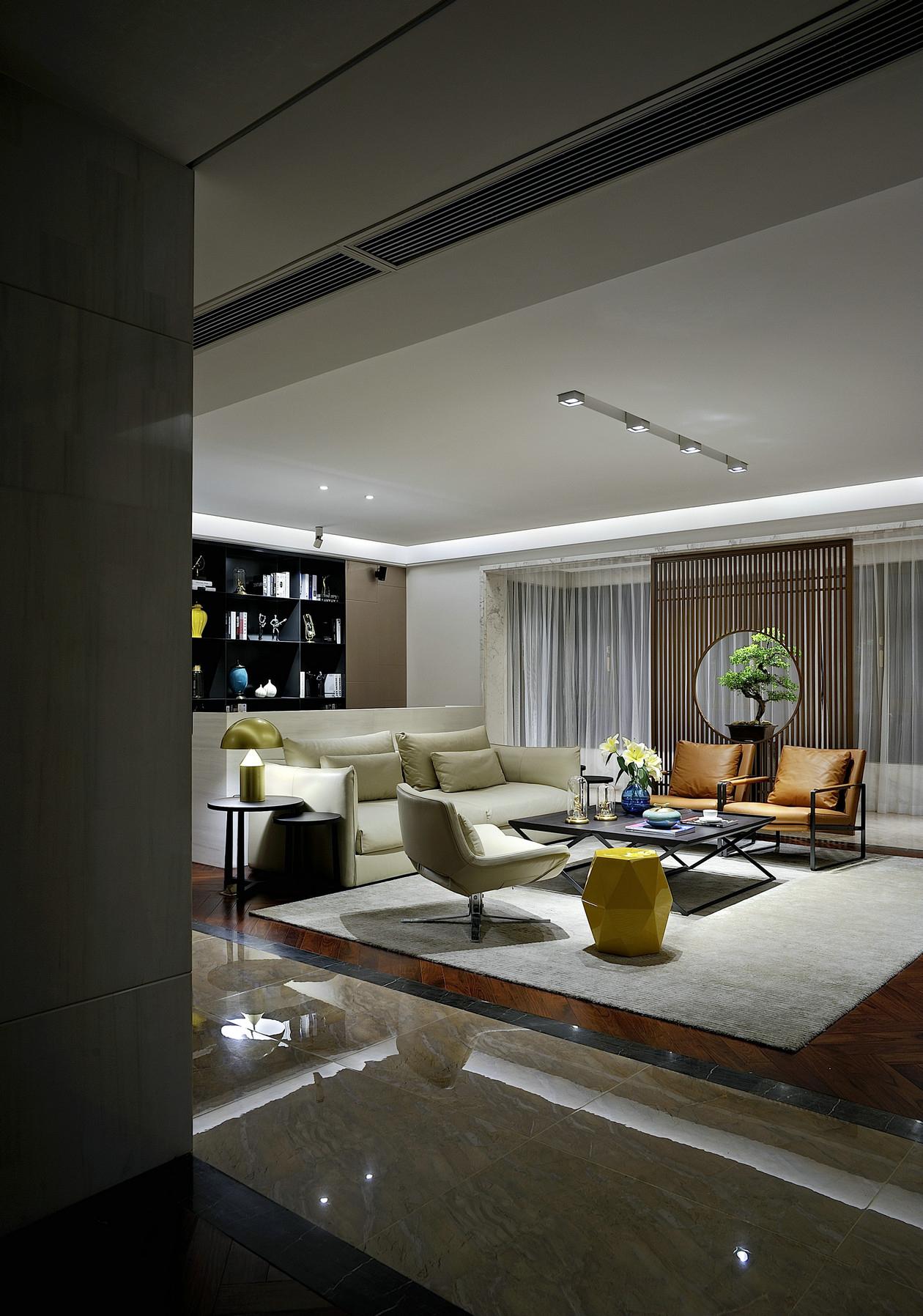 现代简约别墅装修设计也能带来宁静安详的生活享受