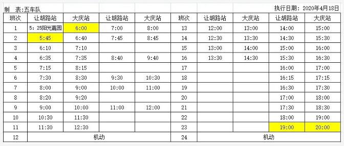 4月18日起2路、36路、202路公交线路有调整大庆站插图