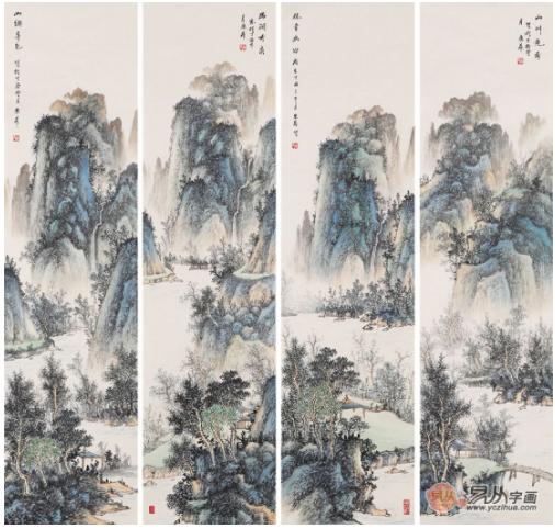 实力派山水画家赵洪霞,一位面向自然,心向当代的书画家
