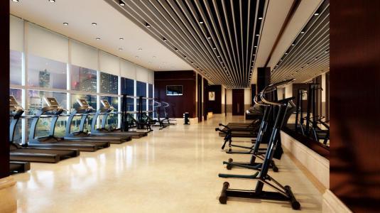 健身房装修合理分布健身器械是关键