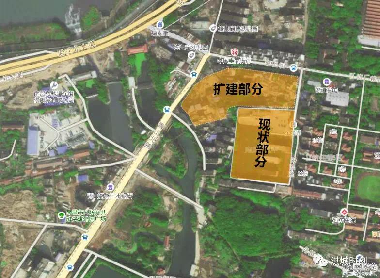 南昌抚生路学校、十五中扩建选址公示!将增加31个班级!