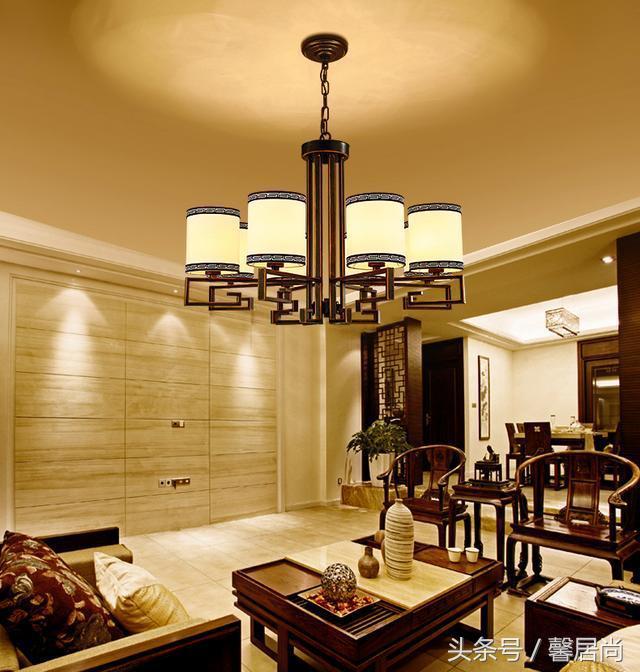 """前人留下的阴阳学说""""天圆地方""""融入到现在新中式家居装修设计中"""