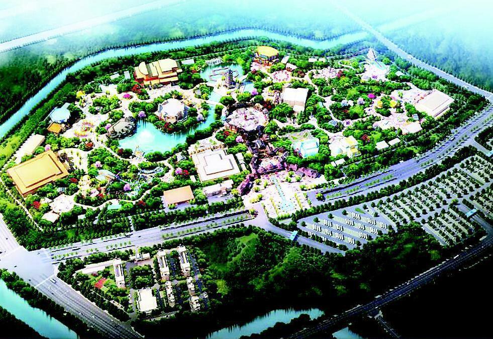 探访太原华夏历史文明传承园 部分项目10月具备参观条件