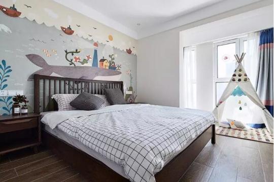 想过上轻简生活?蓝天豚硅藻泥背景墙为你打造简约家居