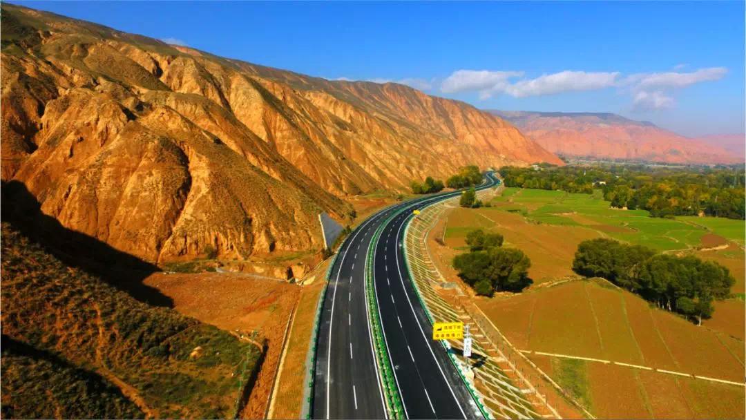 11月底青海到甘肃又一高速大通道将建成通车!
