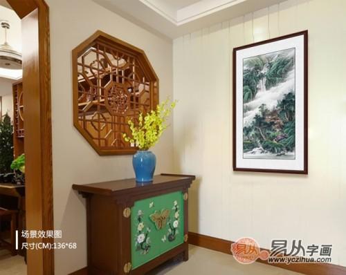 家里哪些场所更适合挂画?家里挂画的五大黄金位置分享