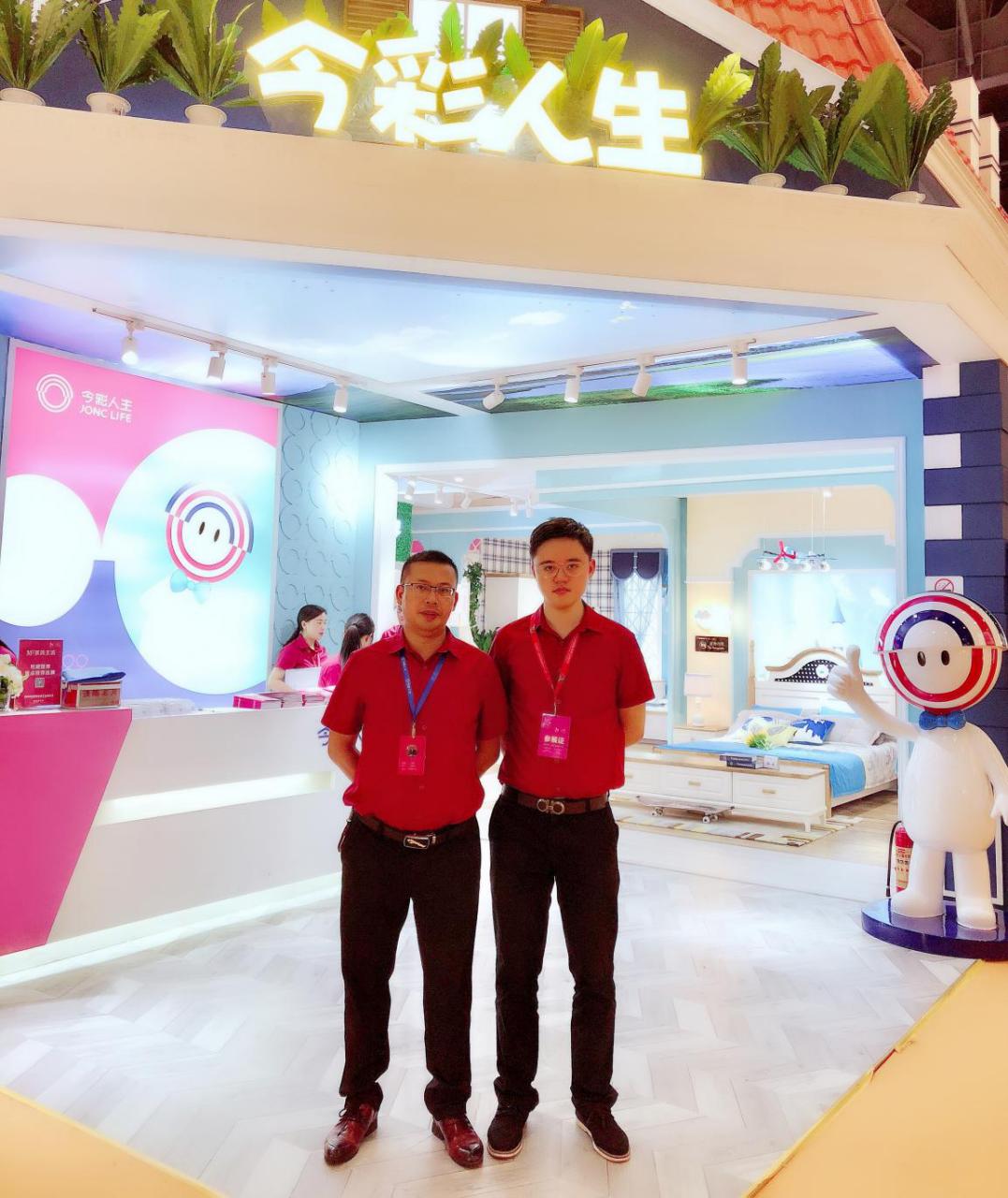 今彩家具惊艳成都展,要为中国青少年量身打造高品质家具