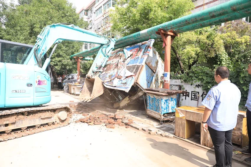 沧州市新华区96个老旧小区环境提升基础工程将全部完工