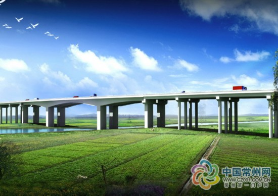 """溧高高速施工现场:每人每机每个构件都带""""码"""""""