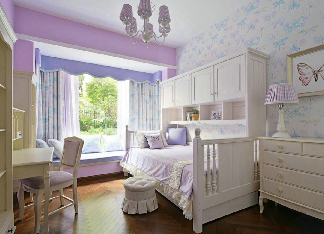 卧室装修色彩搭配准则 不只是看着舒心