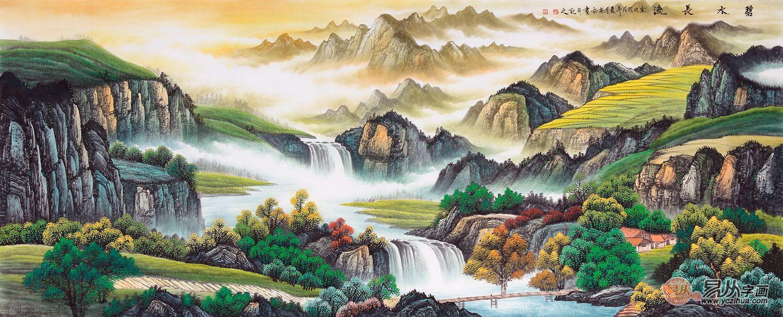 擅长山水的实力派女画家刘燕姣,充满光华神致的艺术境界