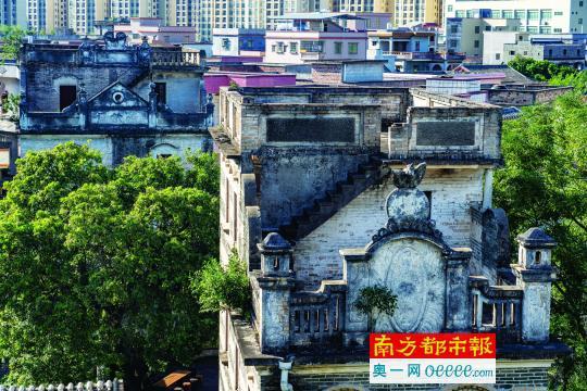 """百年民国碉楼""""复活"""" 打造华侨文旅小镇"""