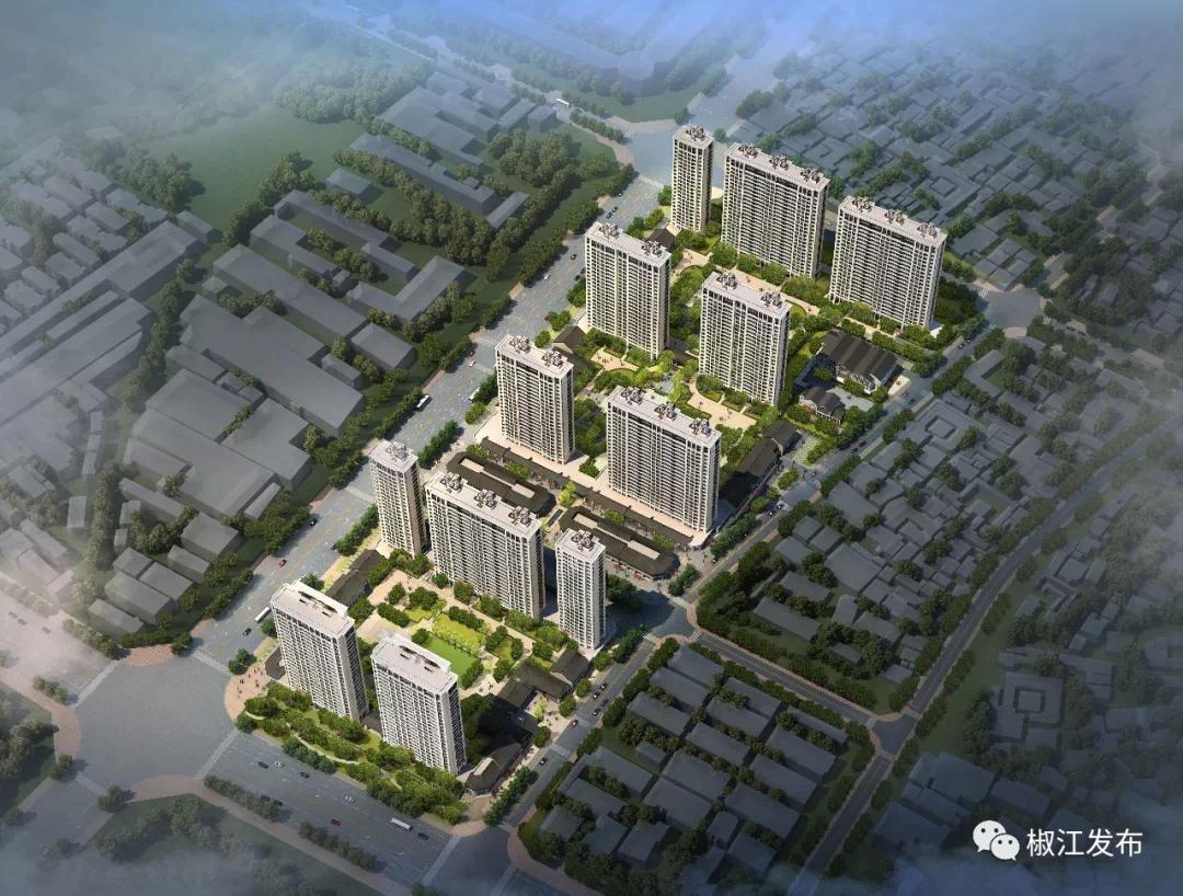 """台州葭沚新屋学院路东安置区块开工在即,未来的""""家""""长这样"""