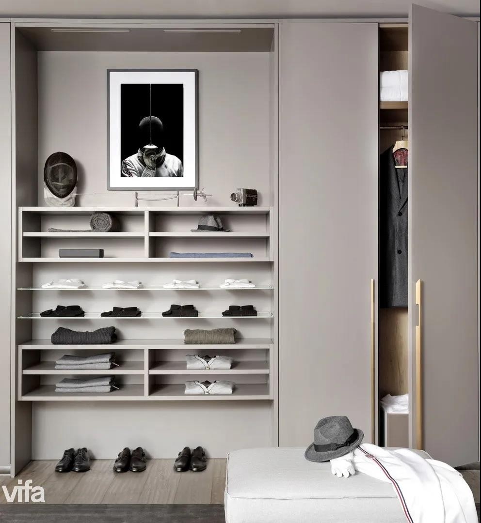 《【摩登3注册平台】vifa威法高端定制卧室衣柜收纳技巧 拥有干净整洁卧室》