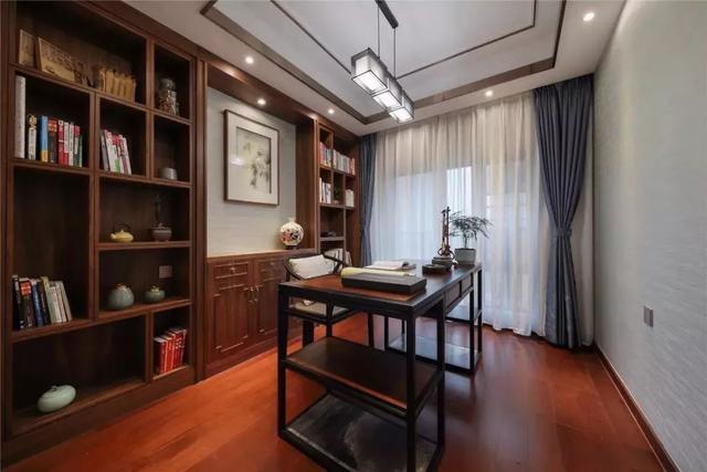 150平端庄新中式,充满文韵与庄重的中式居家氛围