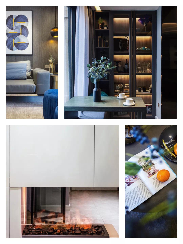 110m²舒适的现代风格,让家人舒适,让自己舒适 现代风格 装修 设计 第2张