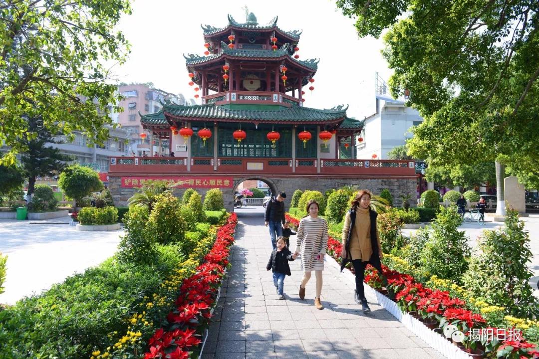历经改革开放40年,一起看看揭阳市区的变化