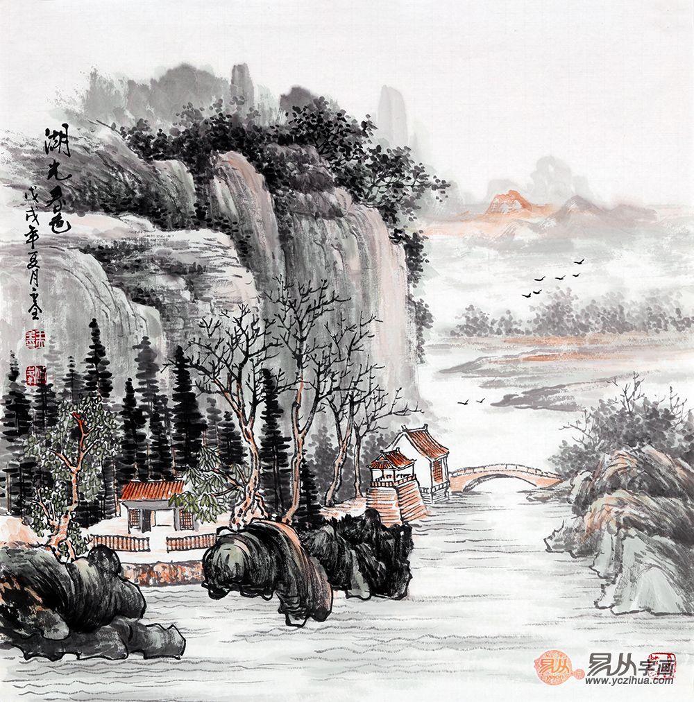 中式装饰,从玄关开始,就如诗画般让人大开眼界!