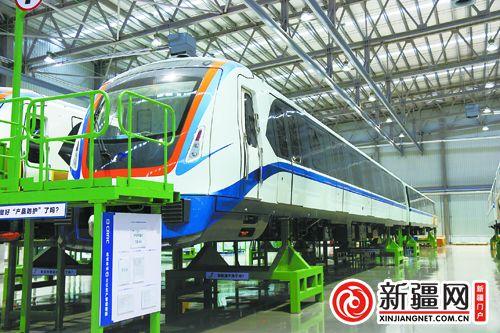 乌鲁木齐地铁1号线本地完成11列整车总装