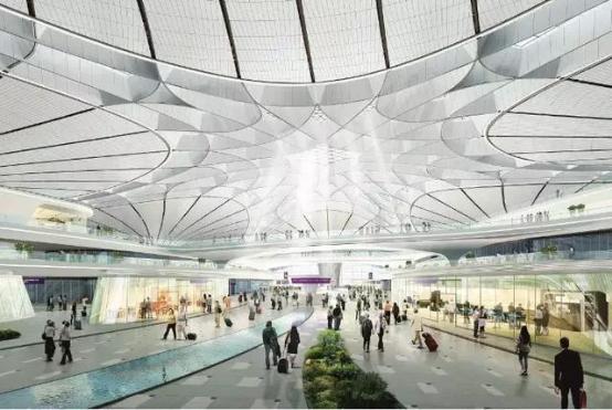 美的中央空调助力北京新机场