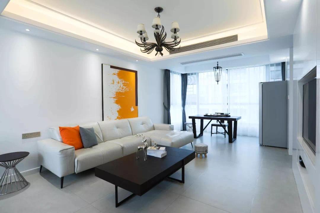 設計師各色彩的巧妙搭配,打造室內家居高級感