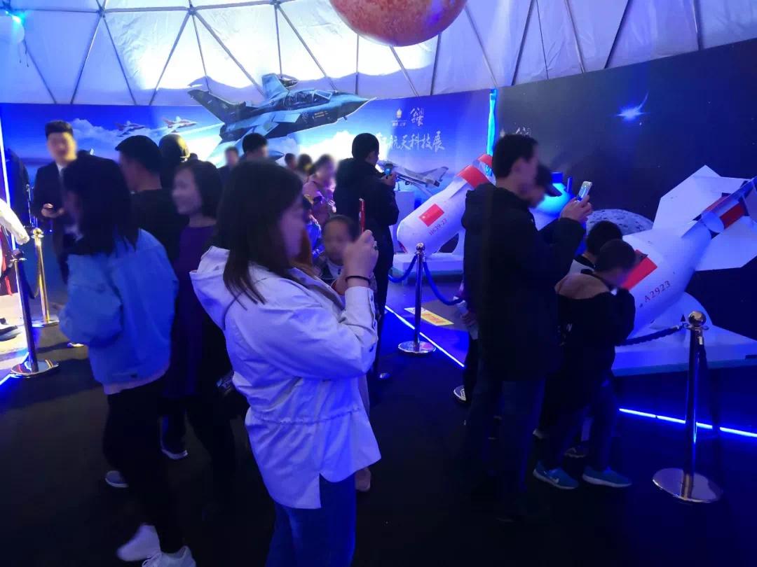 【康博公馆】万人空巷!首届航天科技展圆满落幕!