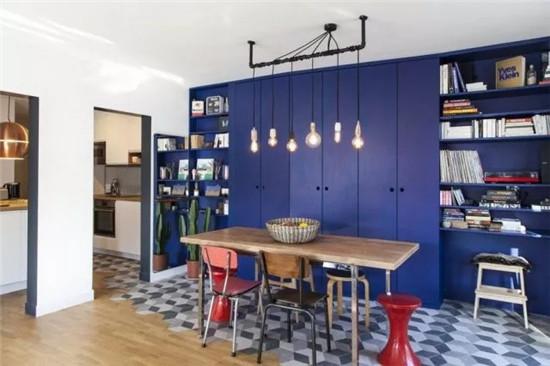 装修选用大面色块家具,效果
