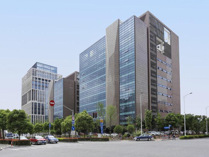 张江中区互联网企业聚集地全球研发中心炬芯大厦