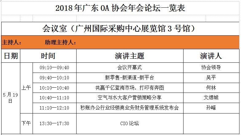 2018广东现代办公行业年会暨大办公博览会成功举办