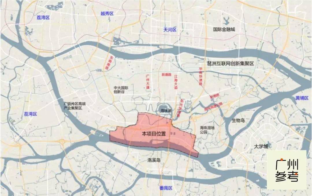 一下通6条地铁!广州主城区这片城中村,变成一线江景新地标!