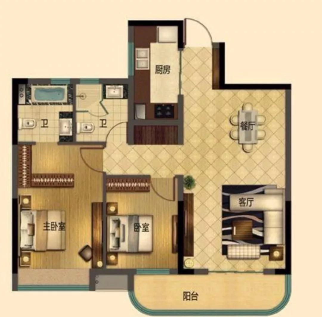 【案例分享】小姐姐自己设计,让家不仅仅是家