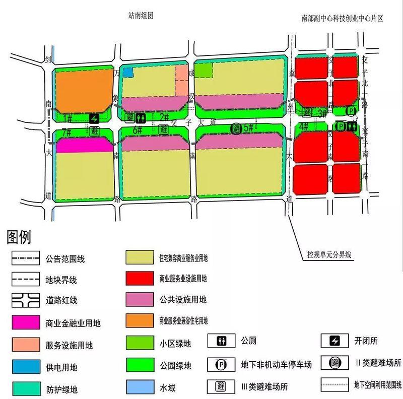 哪些楼盘受益?交子大道将建超长地下通道,换乘地铁更方便