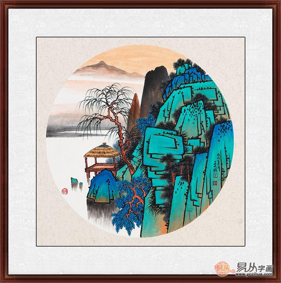 中式茶楼怎么装饰?看最新的茶室装饰精美挂画