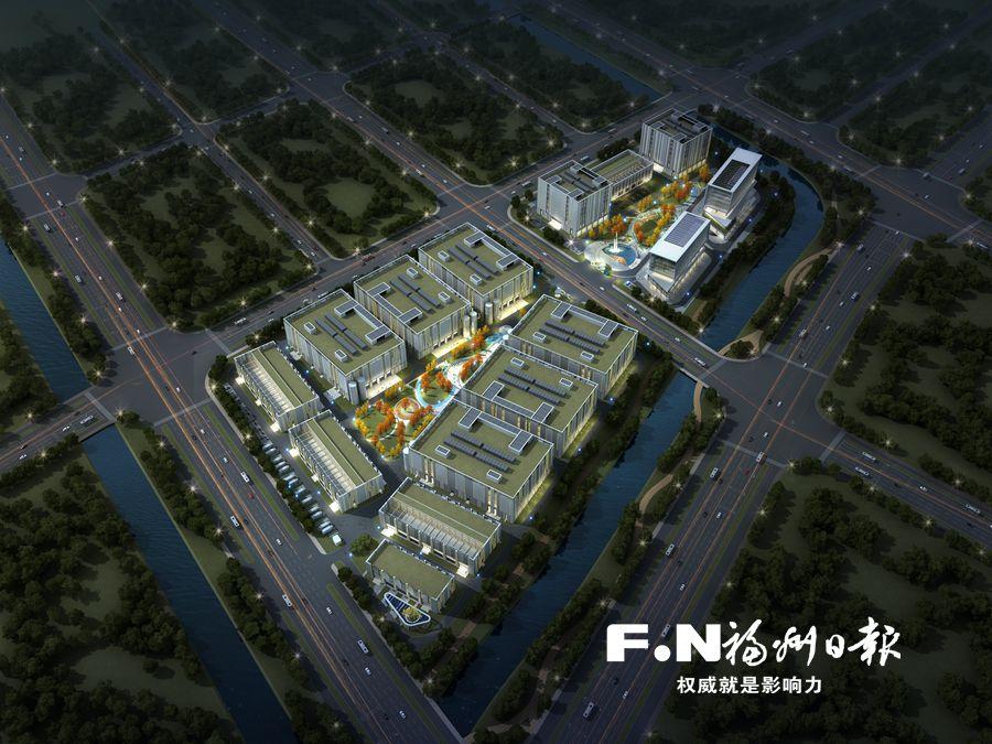 滨海新城又一大项目动工 中国移动数据中心一期工程奠基