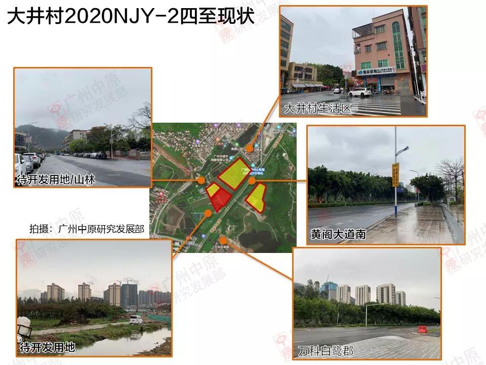 大井村2020NJY-2四至现状