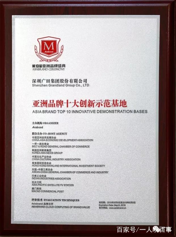 喜提两大奖项!广田集团闪耀第13届亚洲品牌盛典