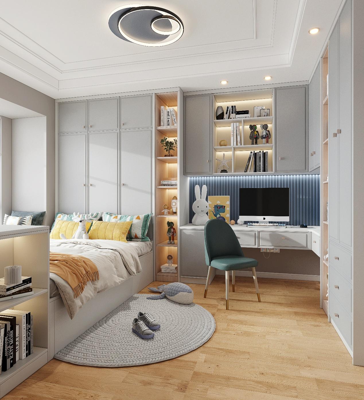 《【摩登3品牌】小房间如何打造成完美卧室?全友来给您支招》