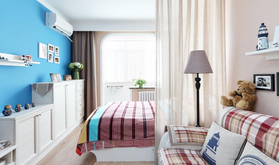 怎么让家中客厅多出一间卧室?