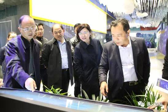 季泓率队到贵州黔北现代物流新城就项目建设情况进行实地考察