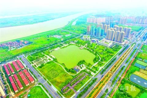 西江新城城市生态修复项目 获推申报中国人居范例奖