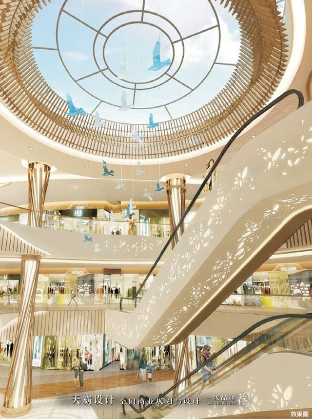 西丽宝能环球汇全场景式艺术体验空间设计,点亮城市新想象