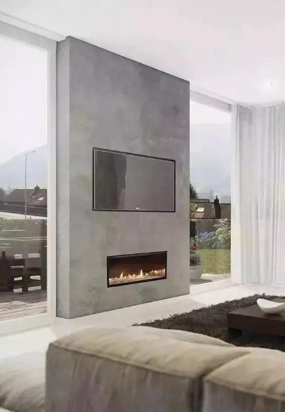 坚决甩掉传统电视墙,这样装,居室极具高级感!