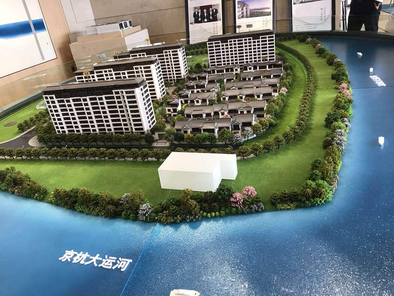 德清华景川运河宸园,京杭大运河岸上的院馆,只此一城