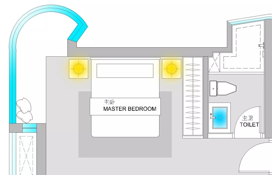 110m²舒适的现代风格,让家人舒适,让自己舒适 现代风格 装修 设计 第17张